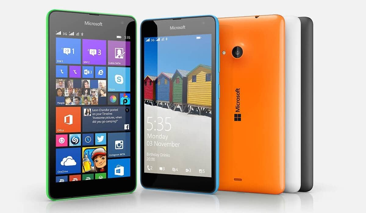 MOdelos de celular com Windows Phone