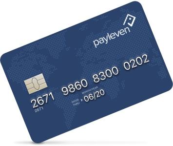 Cartão pré-pago Payleven