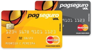 Cartão pré-pago PagSeguro em duas cores