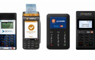 Maquininhas GoPag, Compufacil, Gpagos e Rede Pay