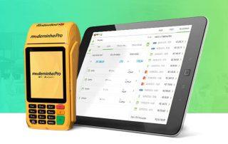 Moderninha Pro e tablet com o PagSeguro Vendas