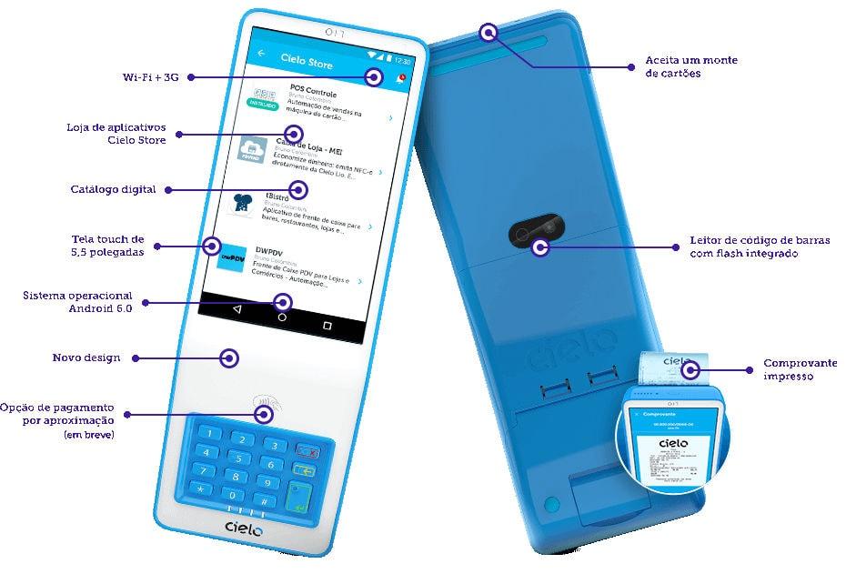 Cielo Lio V2 mostrando funcionalidades