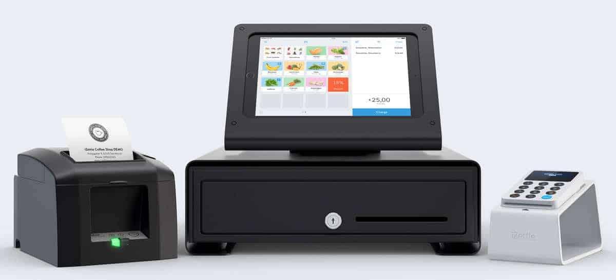 iZettle impressora, app e acessórios