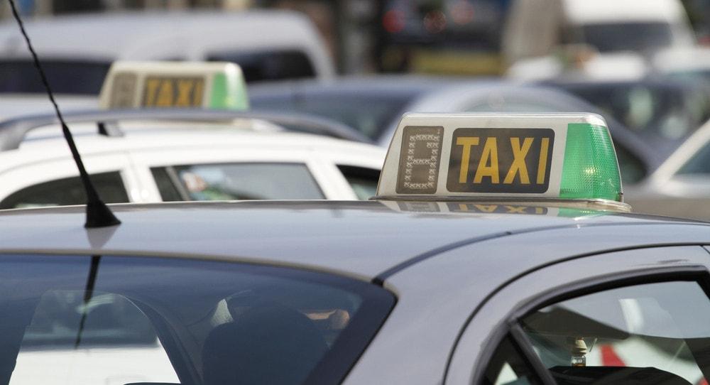 Táxis em SP