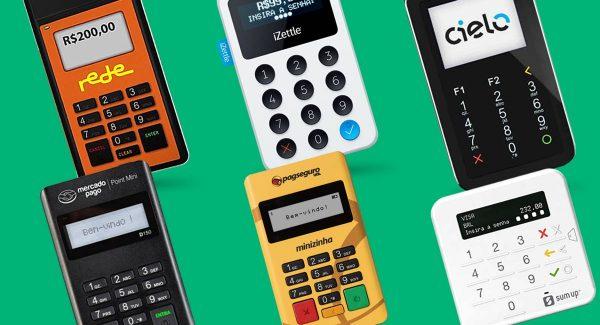 Mobile Rede, Cielo Mobile, Point Mini, Maquinão iZettle, Minizinha