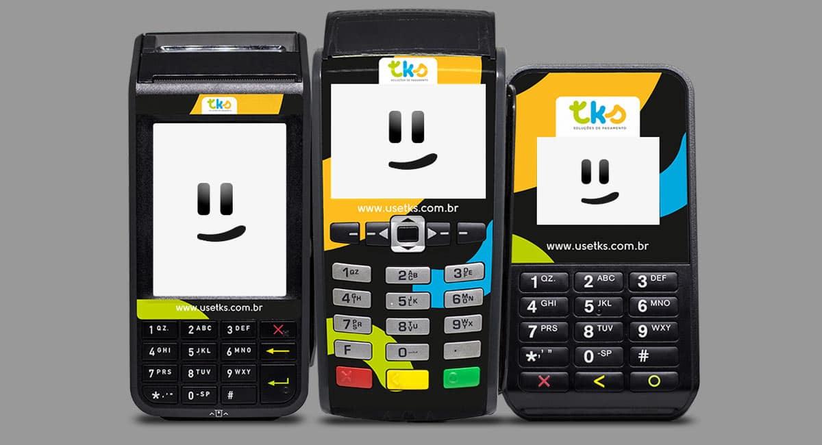 Ilustração mostrando as três máquinas TKS