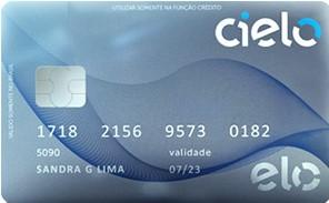 Cartão pré-pago Cielo