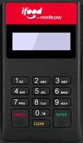 Maquininha de cartão iFood Pocket
