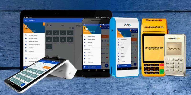 SmartPos Aparelhos e máquinas compatíveis