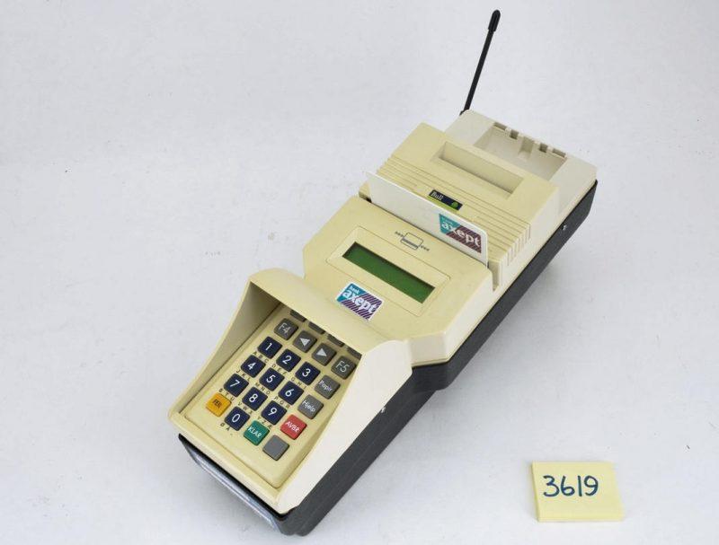 Máquina de cartão da Telenor Mobile de 1997