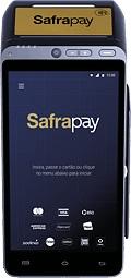 Ilustração da máquina de cartão SafraPay Smart