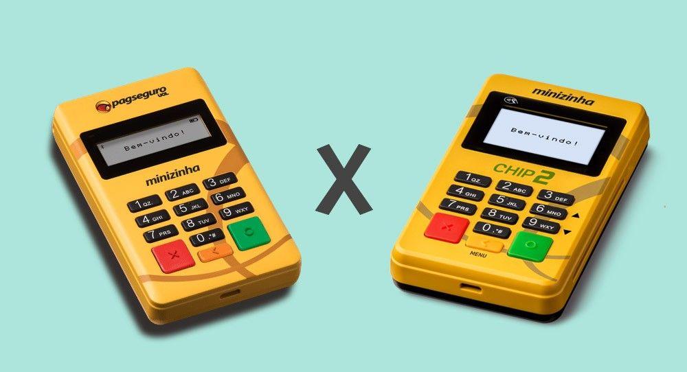 Minizinha Chip e Minizinha Chip 2