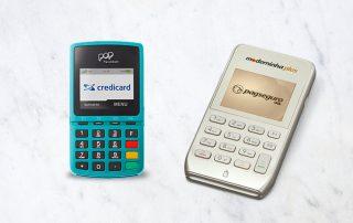 Maquininhas Pop Credicard e Moderninha Plus