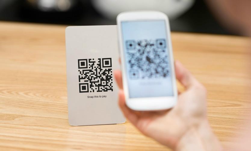 Pagamento com celular via QR Code