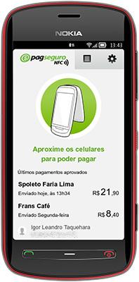 Primeiro celular Nokia com tecnologia NFC do PagSeguro
