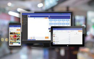 SmartPos no celular, desktop e tablet