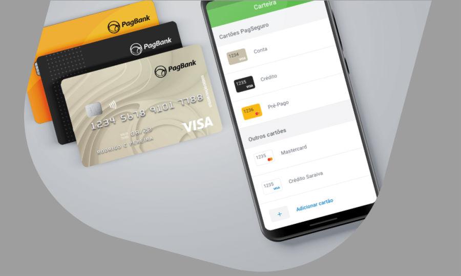 Cartão de crédito pagseguro visa