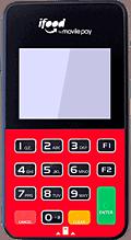 Máquina de cartão iFood Fast