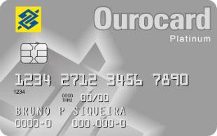 Ourocard Platinum do Banco do Brasil