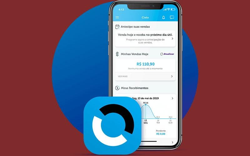 Controle de vendas no app Cielo Pay