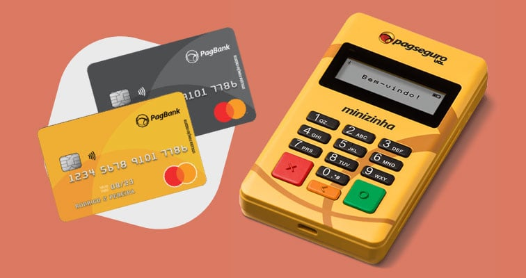 Minizinha e Cartão PagBank Pré-pago
