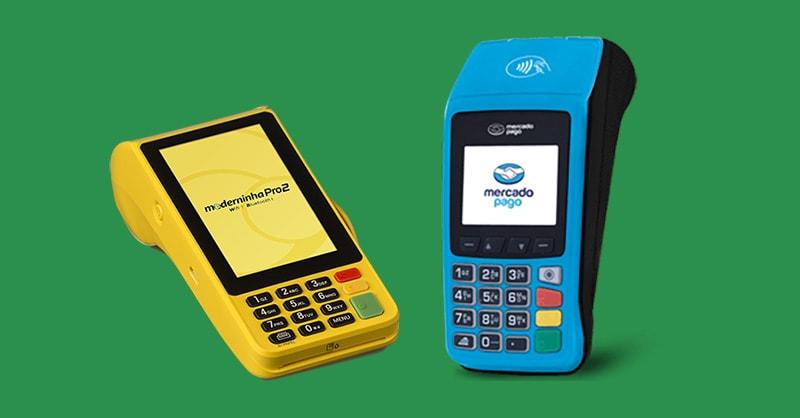 Mercado Pago Point Pro e Moderninha Pro 2