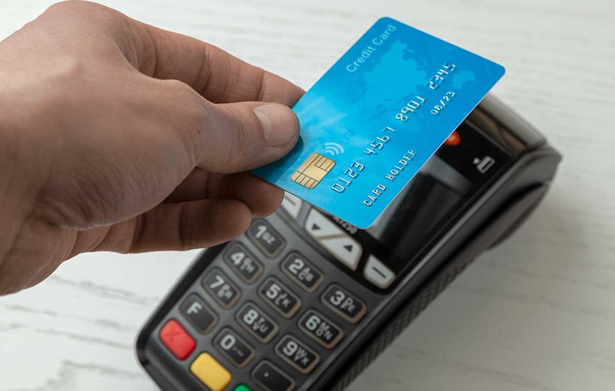 Pagamento por aproximação (NFC) com cartão de crédito