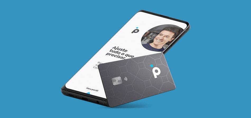 Cartão e app da conta digital Banco Pan