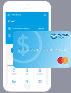 App e cartão da conta digital do Mercado Pago