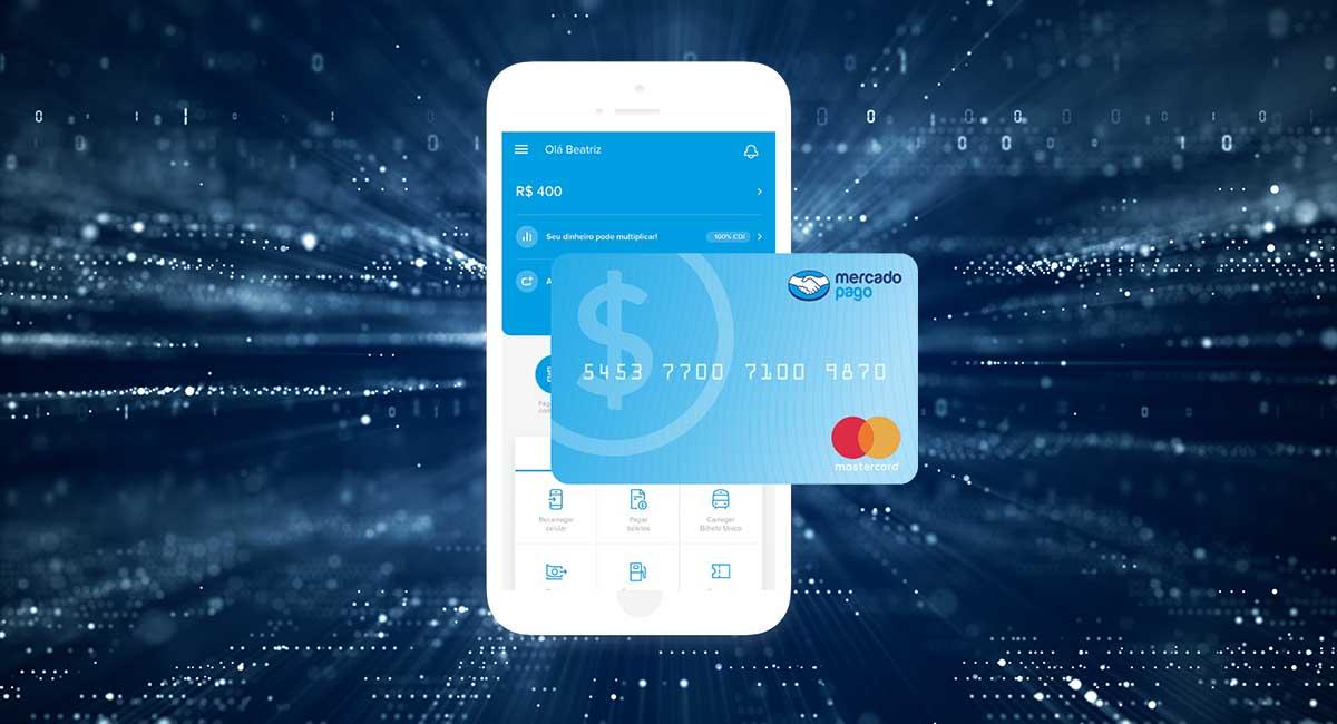 Conta digital e cartão Mercado Pago