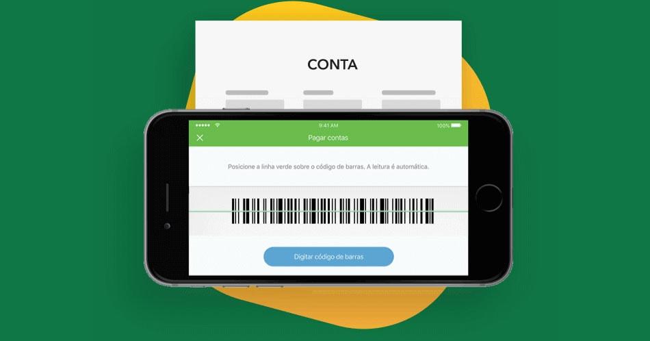 Pagando boleto com a conta digital PagBank
