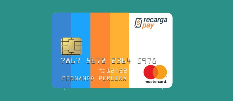 Cartão pré-pago RecargaPay