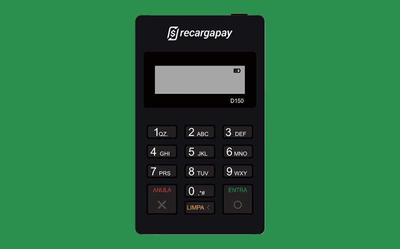 Maquininha de cartão RecargaPay