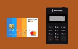 Maquininha e cartão RecargaPay