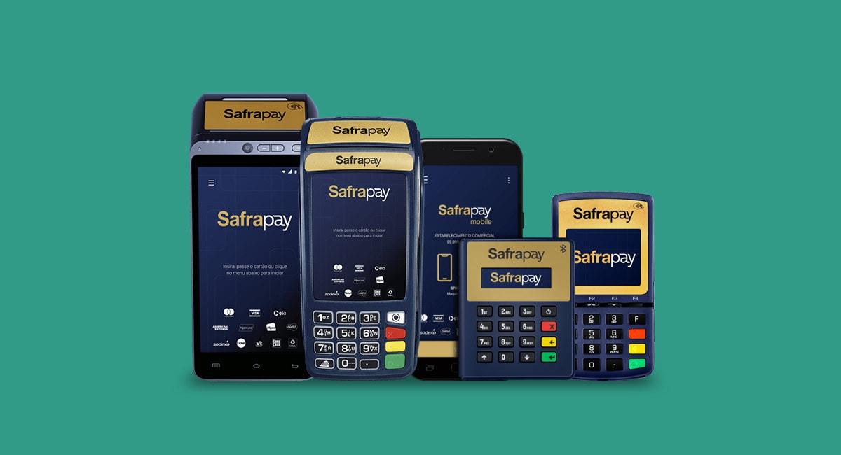 Maquininhas de cartão SafraPay