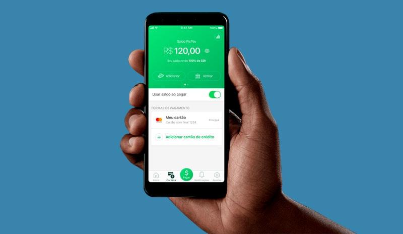 Enviando dinheiro pelo app PicPay