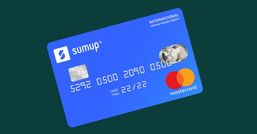 Cartão pré-pago SumUp Mastercard