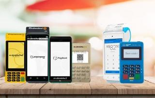Moderninhas X, Plus, Smart e Pro 2, e Mercado Pago Smart e Point Mini Chip