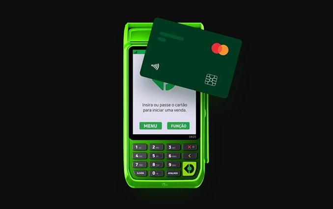 Stone Smart S920 com cartão pré-pago