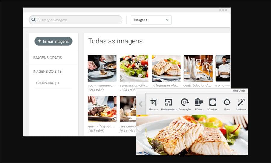 Editor do Uol Criador de Sites