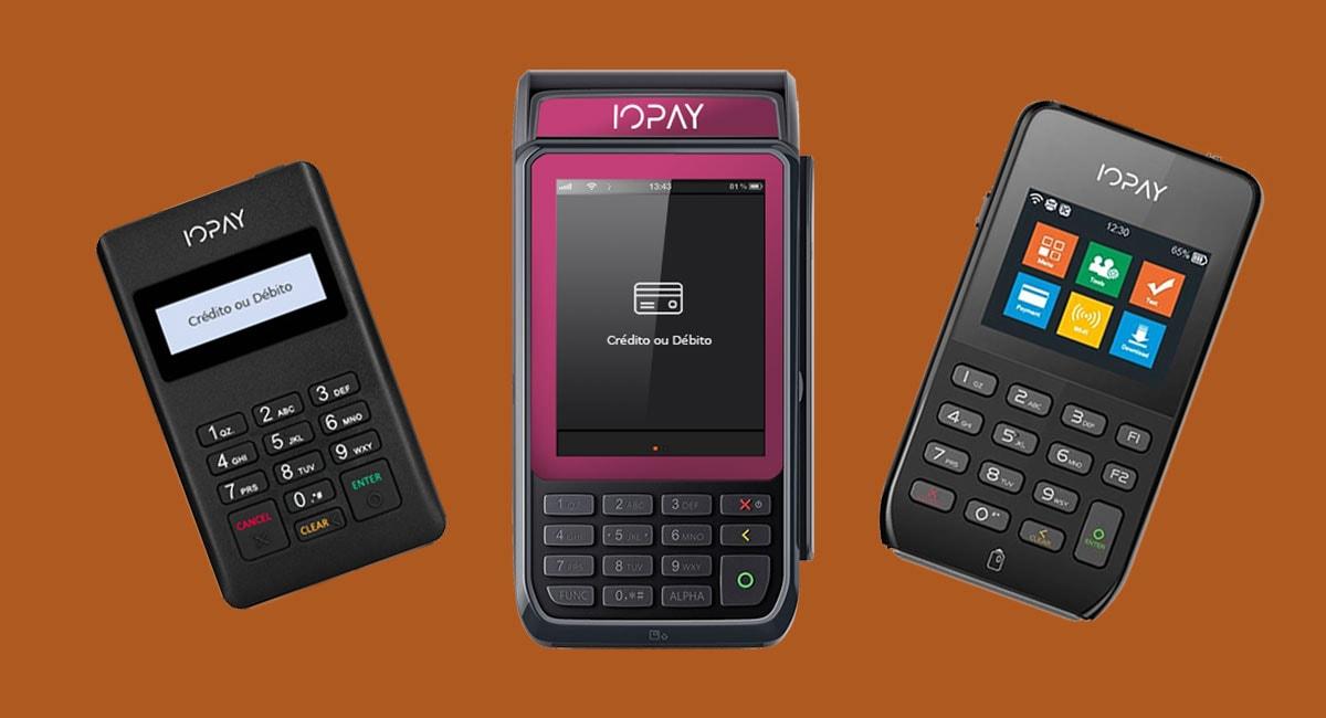 Máquinas de cartão IOPay