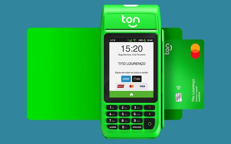 Stone Ton T3 e Cartão Pré-pago