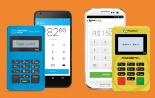 Mercado Pago Point Mini e Minizinha NFC