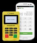 Minizinha NFC com celular