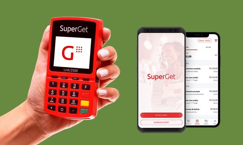 SuperGet com Chip e Wi-Fi e App