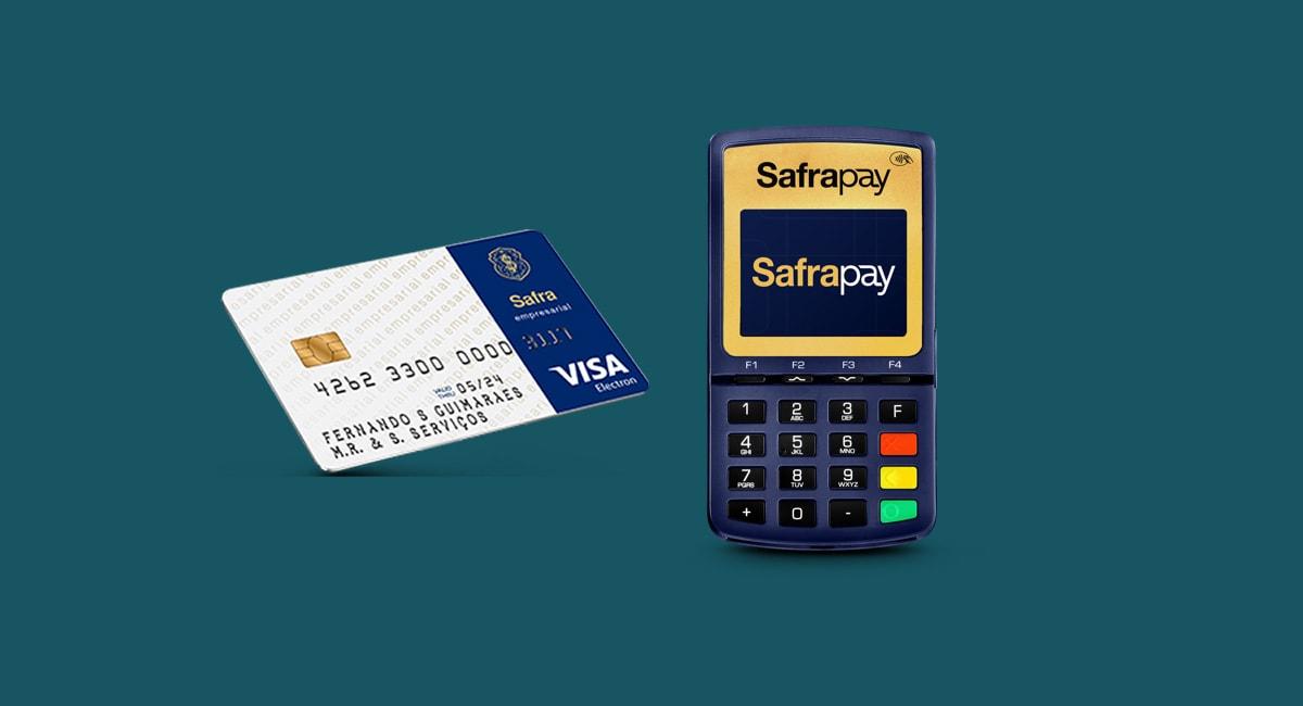 SafraPay Sem Bobina 3G e cartão pré-pago