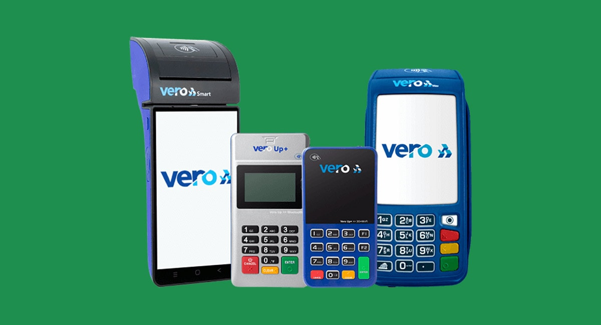 Máquinas de cartão Vero