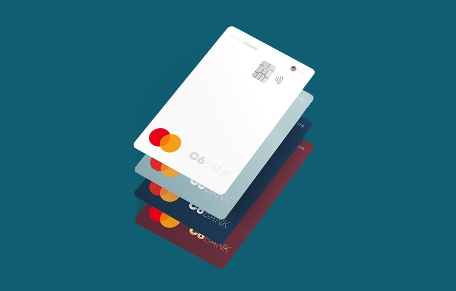 Cartões de crédito C6 Bank