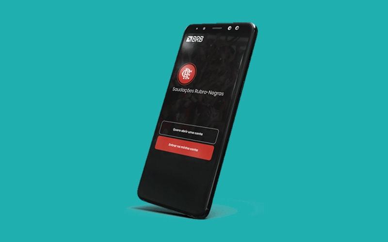 App conta digital BRB Flamengo