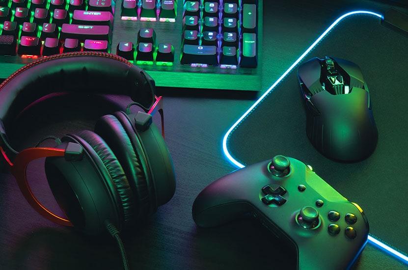 Acessórios para gamers